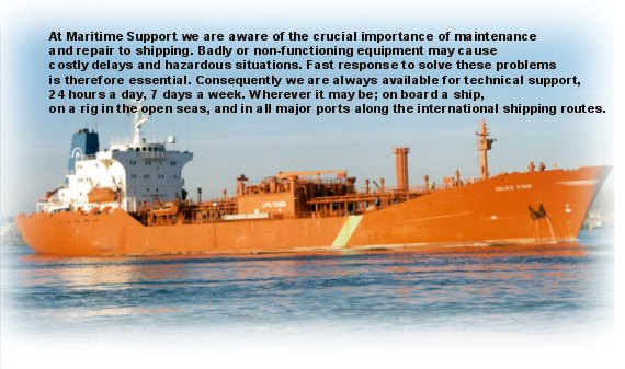Maritime Support : Welcome
